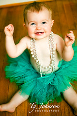 Elle - Tutu (Ty Johnson Photography) Tags: baby cute smile photography virginia kid nikon child elle richmond tutu d90 strobist