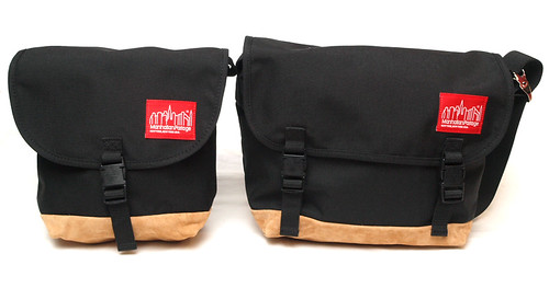 Manhattan Portage / 1604SD & 1606V JRSD Suede Fabric Messenger
