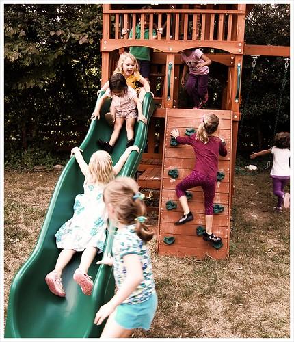 Backyard play!