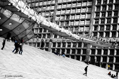la grande arche de la défense - the human element