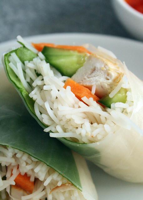 Gluten Free Scallywag_ Rice Paper Rolls 1