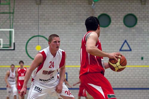 Swiss Central Basket - Pully Basket (6.11.2010)