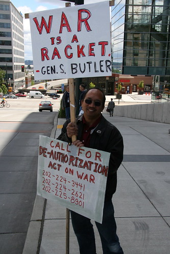 War is a racket.