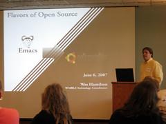 Wes Hamilton speaking