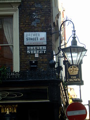 The Crown Tavern Brewer Street (mike_smith's_flickr) Tags: signs london sign logo pub image theatre drink soho ale photograph signage streetsigns brewerstreet 2012 thecrown fullers londonpride realale pubsign london2012 londontown visitlondon londonpub cityofwestminster soholondon olympiccity mylondon londonsign londongames greatestcityintheworld touristlondon sohopub thecrownbrewerstreet greatlondonpubs brewerstreetw1 londonbrewerstreet famouslondonpubs fullerspride streetarchitechture
