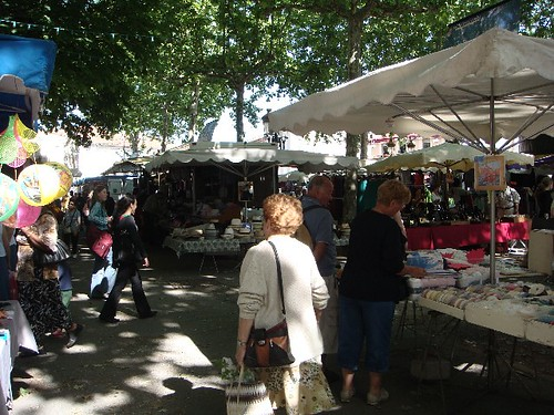 Market at Gaillac