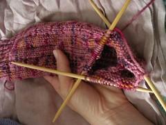 turning point (losethemittens) Tags: socks knit knitty artyarnsultramerino