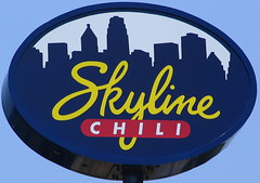 Typical Skyline Chili sign
