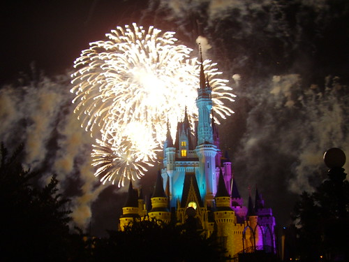 113 - Los fuegos artificiales en Magic kingdom
