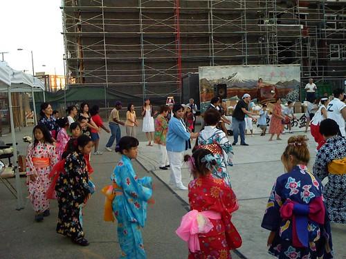 Obon Festival Dancing