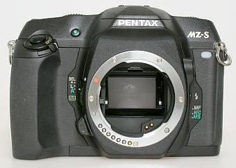 Pentax MZ-S front