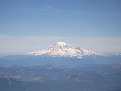 First look at Mt. Rainier
