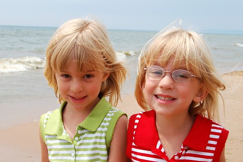 Sydney & Lindsey at Lake Michigan