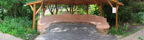 Cob Bench Panorama