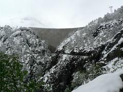 Barrage de Emosson (wimbledonian) Tags: snow train switzerland du parc barrage funicular emosson dattractions châtelard