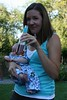 friends let friends drink while holding their baby