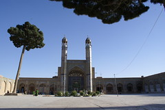Herat City, The Masjid of the Cloak of Prophet Mohammad (moslihh) Tags: city trip travel party summer sky afghanistan green architecture wow nice mud good minaret mosque masjid herat hashmat mudarchitecture moslih