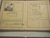 Fritz Lang's passport (cameramakeswhoopee) Tags: berlin germany kino alemania filmmuseum lang ufa filmhaus kinemathek mediathek