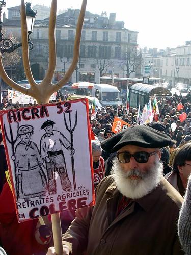 Le vieux manifestant