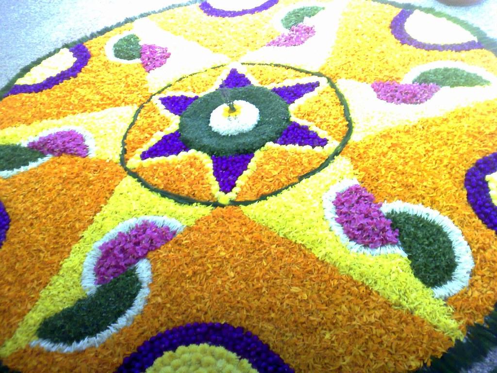 Floral decoration-Onam