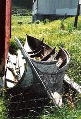 Old boat in Mstad (solbergsengen) Tags: old abandoned norway norge lofoten gammel vry vaeroy gammelt forlatt mostad