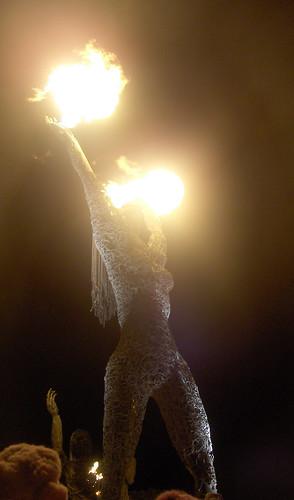 Crude Awakening Statue