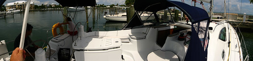 Jeneau 42 sail boat in Abacos Island, Bahamas