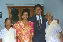 Grandma's (bijukurian) Tags: wedding college heart sacred cochin biju ernakulam stteresas thevara beksy