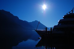 Heading for the Light (lhongchou) Tags: blue austria nikon ship achensee pertisau d40 superhearts theunforgettablepictures