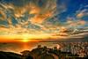 De Llevant a Ponent (Salva Mira) Tags: blue sunset red sun sol azul rojo puestadesol blau poniente benidorm postadesol solarenergy energiasolar levante ponent roig capvespre serragelada llevant energíasolar colorphotoaward salvamira