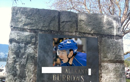 burrows momument