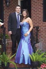 Seth and Kelby. (Kyle Hickman) Tags: school friends boy senior girl pose kyle hair dance outfit high friend raw dress florida sister may makeup clothes nails prom tuxedo junior kelsey sibling date tux lakecity freshmen sophomore chs 2010 columbiahighschool kylehickman