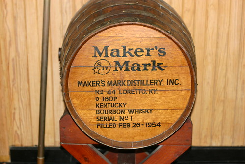 Maker's Mark Display Barrel