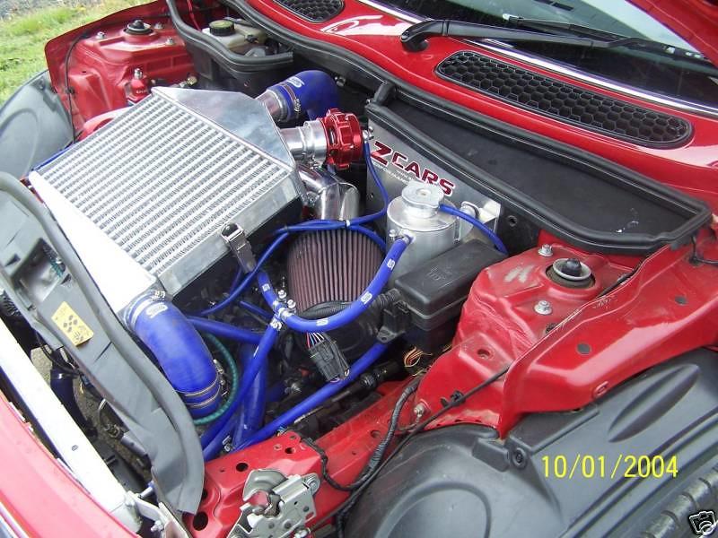 Drivetrain 2003 Mini Cooper Engine Swap-KLZE v6 - North