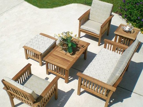 6-Piece Classic Georgia Teak Furniture Set