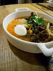 Wood-Ear Mushroom and Bean-thread Vermicelli Soup