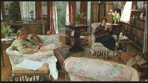 """гостиная - интерьер дома из фильма """"Из Африки"""""""