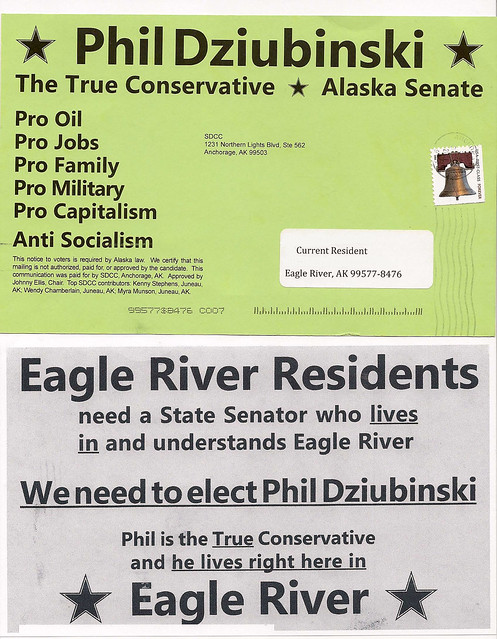 Dirty tricks by the Alaska Democratic Party's SDCC