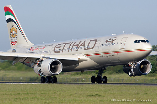 Etihad Airways Airbus A330-243
