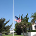 Flag at half mast for September 11 Memorial