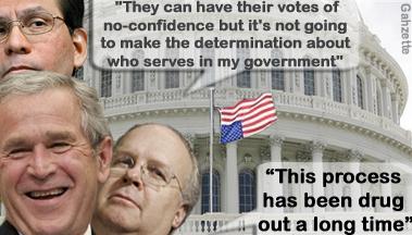 Bush the Determinator
