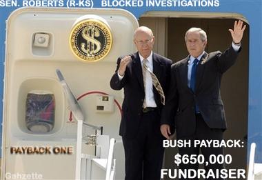 Quid Pro Quo,  Roberts - Bush