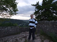 I've just climbed up Symonds Yat Rock