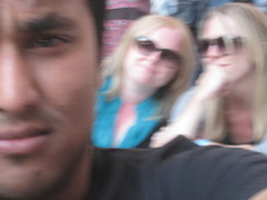 Me and some posers (Nizam Uddin) Tags: music london concert gig wembley nizam uddin liveearth nizamuddin liveearth2007 nizamsphoto