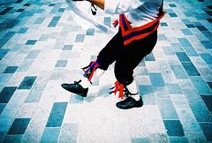 morris dancers freak me out (lomokev) Tags: england feet stone dance lomo lca xpro lomography crossprocessed xprocess shoes brighton legs pavement ground lomolca sidewalk granite agfa jessops100asaslidefilm agfaprecisa morrisdancing lomograph morrisdancer reebok agfaprecisa100 newroad cruzando hankie precisa jessopsslidefilm littlebriton file:name=070704lomolcaplus13 rota:type=showall rota:type=composition rota:type=portraits rota:type=cityscape newrd