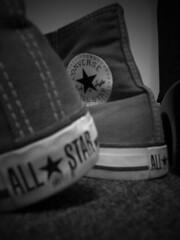 we love converse (lema <3) Tags: bw white black photoshop shoes 123 converse allstar chucks