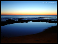 Praia do Sul. (runatyrwyn) Tags: sunset sea beach portugal ericeira