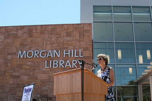 Carol O'Hare, President, Friends of the Morgan Hill Library