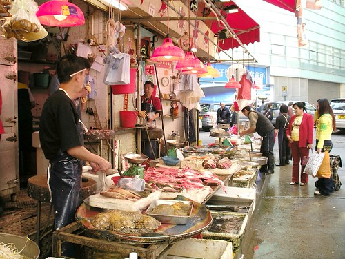 Fishmonger stall (by Christ tell)