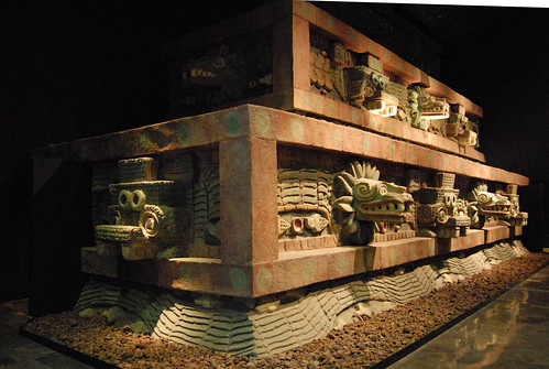 The Ciudadela, Teotihuacan, Mexico, Teotihuacan culture, after 350 CE